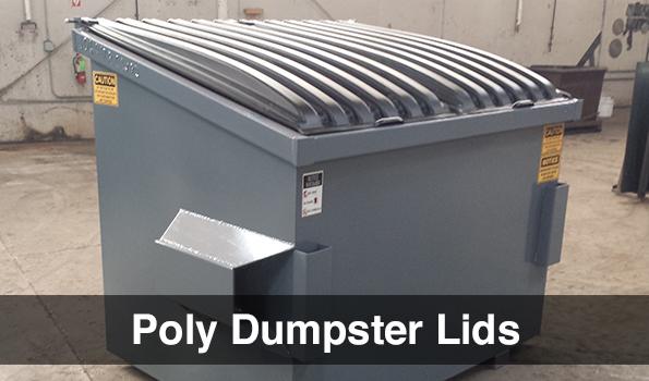 Poly Dumpster Lids