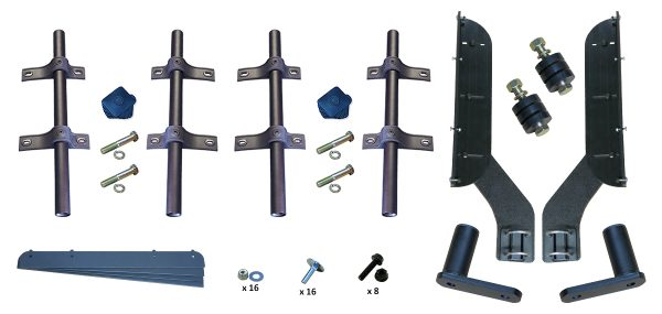 MH-FT50 | Straight Mounting Kit for Full Tandem Fenders