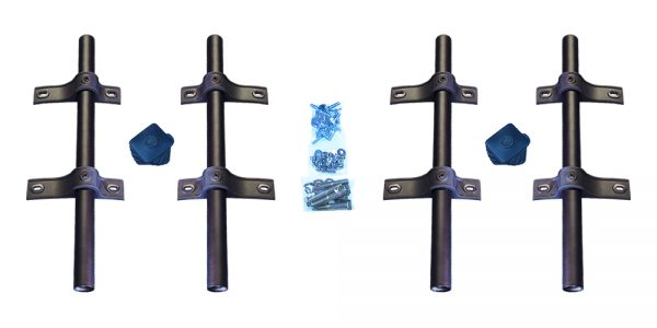 MH-SA50 | Straight Tube Mounting Hardware for Single Axle Fenders