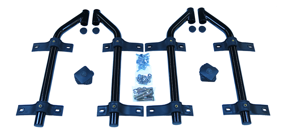 MH-SA51 | Single Axle Off-Set Tube Mounting Kit