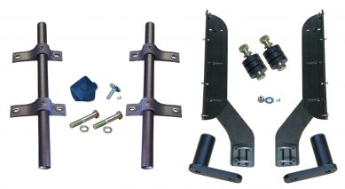 MH-TA50 | Straight Tube Mounting Kit for Half Fenders