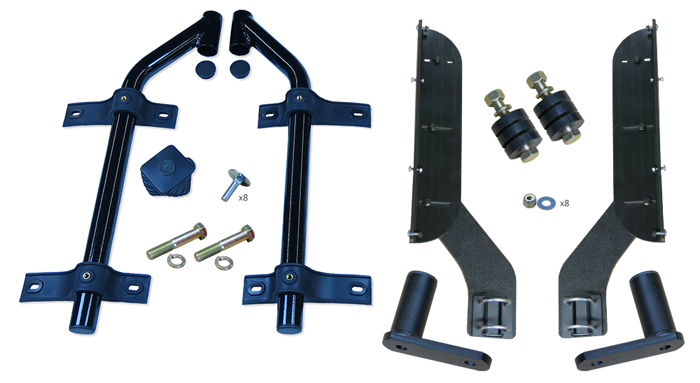 MH-TA51 | Half Fender, Off-Set Tube Mounting Kit