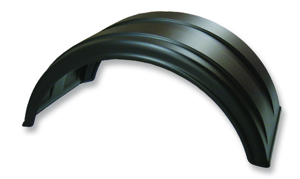 SAF-165 | Single Axle Poly Fender Pair