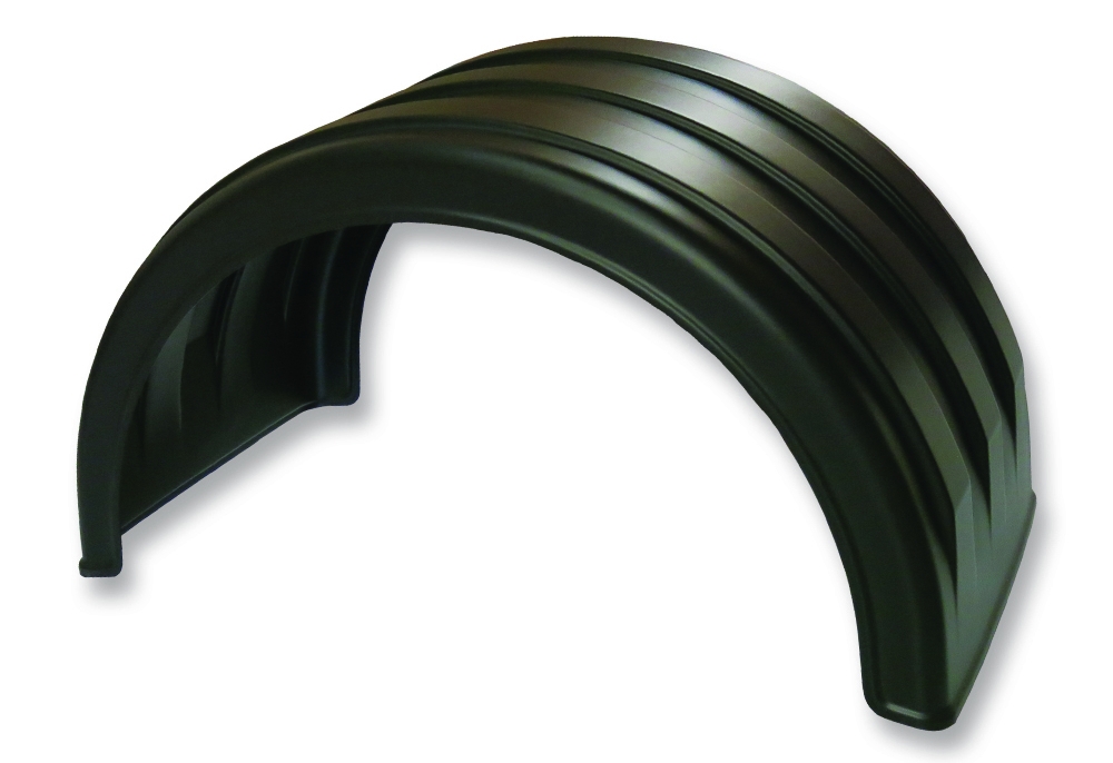 SAF-225 | Single Axle Poly Fender Pair