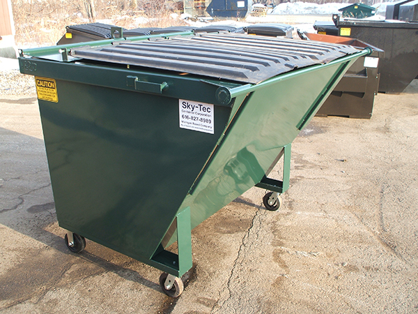 Rear Load Dumpster