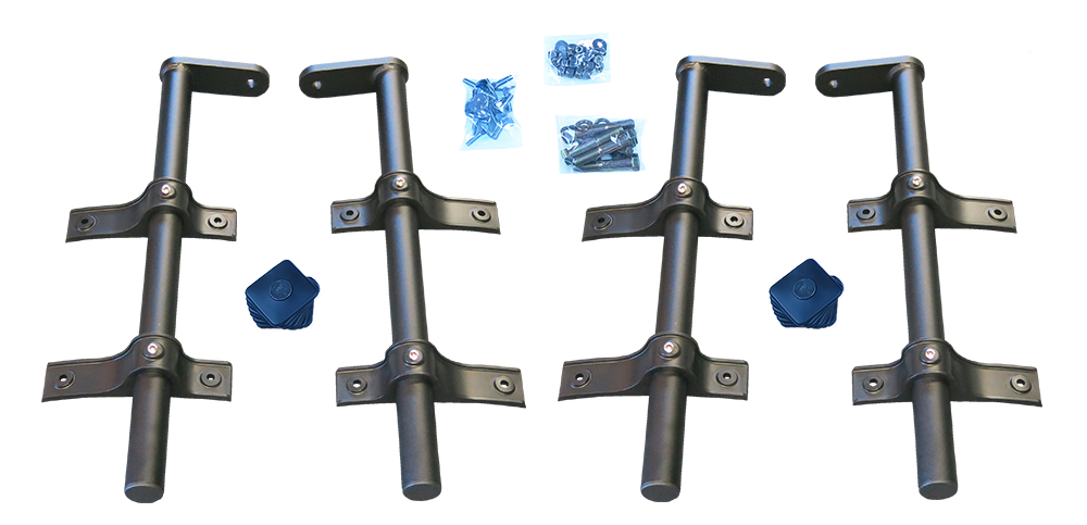 MH-SA52 | Single Axle Economy Offset Tube Mounting Kit