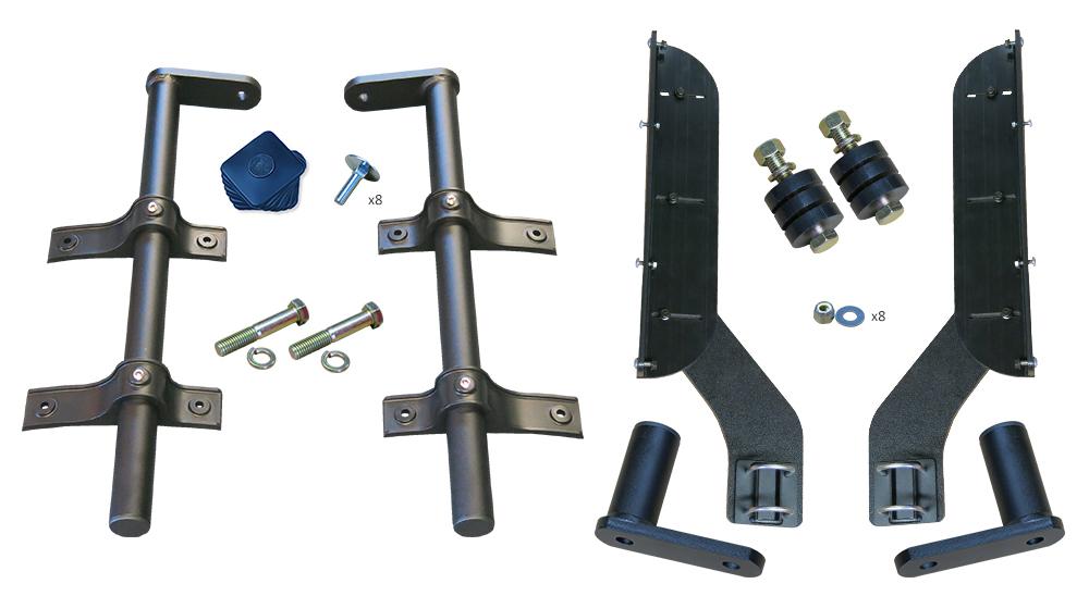 MH-TA52 | Half Fender, Offset Tube Mounting Kit