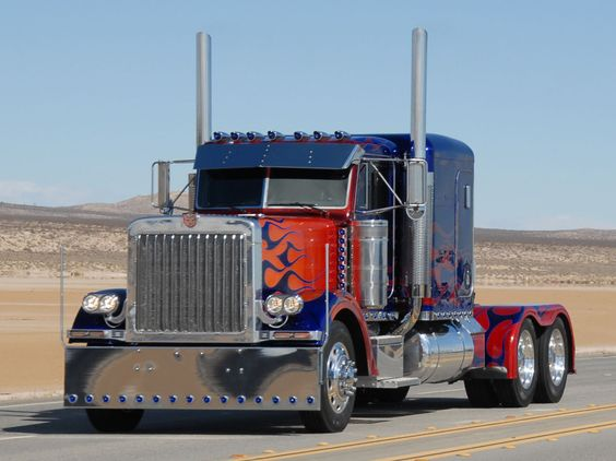 Cool Custom Semi