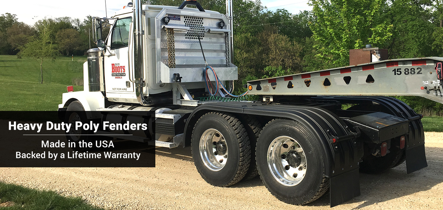 Robmar Heavy Duty Poly Truck Fenders