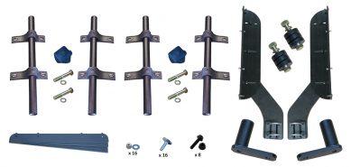 MH-FT50 | Straight Mounting Kit for Full Tandem Fenders