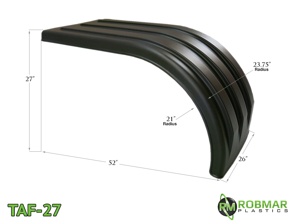 TAF-27 | Half Poly Fender Pair