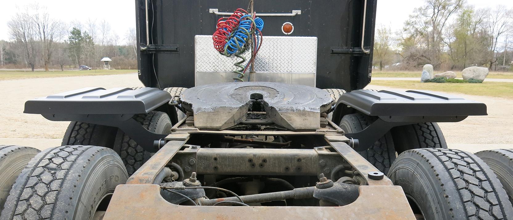 Half Fender Kit - Rear View