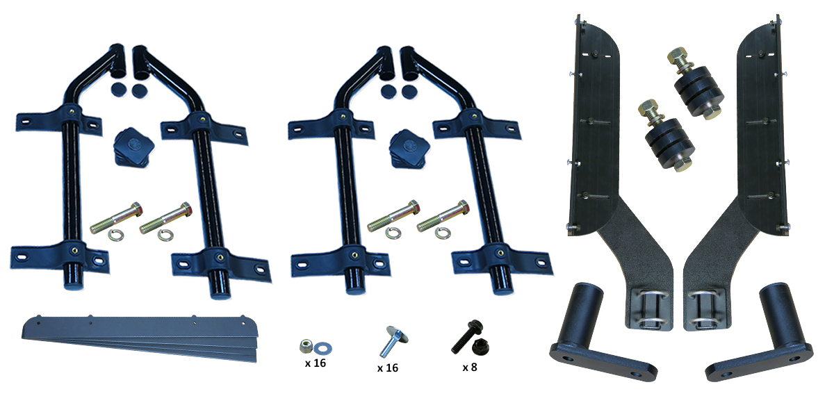 MH-FT51 | Full Tandem Off-Set Tube Mounting Kit