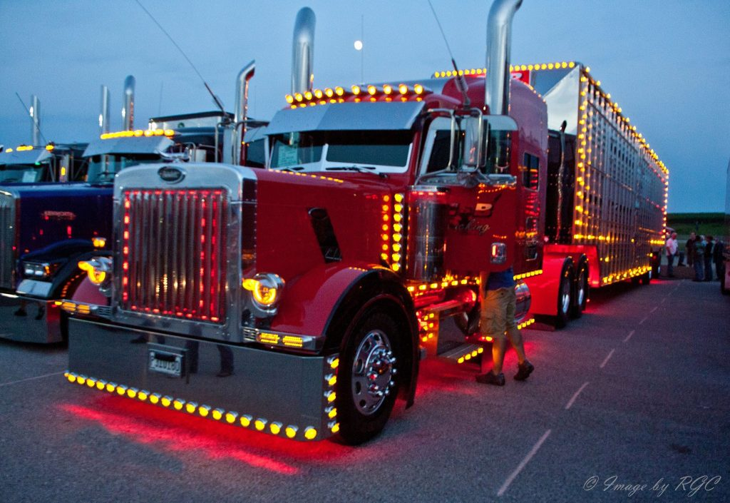 Peterbilt Light Show