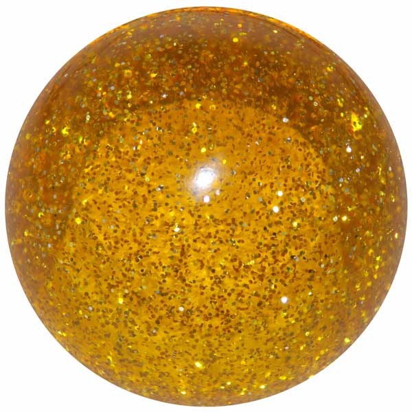 Amber Glitter Shifter Knob from Iowa 80