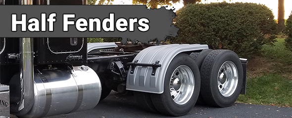 Heavy Duty Poly Half Fenders