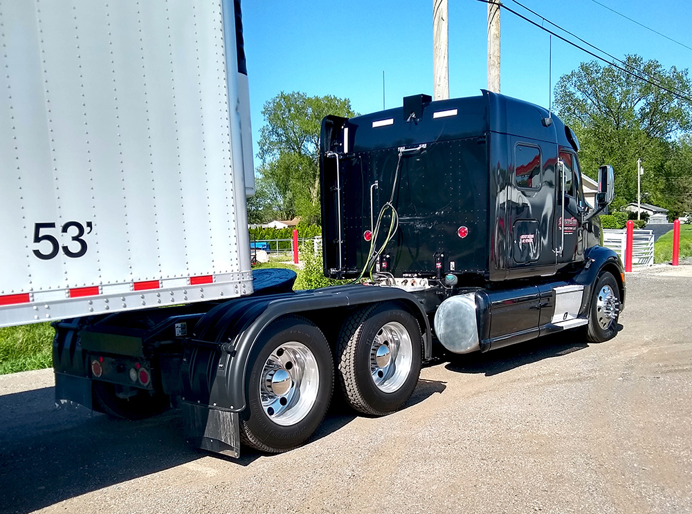 Black Full Poly Truck Fenders