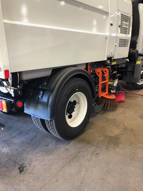 Plastic Truck Fenders for Street Sweeper