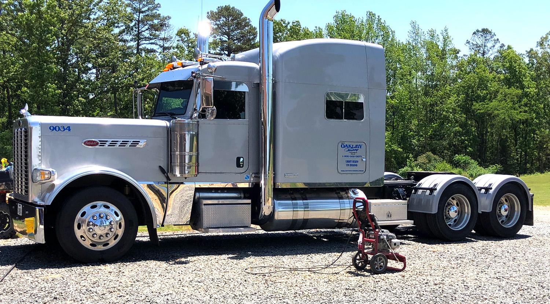 Silver Single Axle Poly Truck Fenders